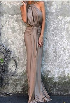 Plus Size Prom Dress, gray halter prom dress,gorgeous custom made prom dress,cheap party dress Shop plus-sized prom dresses for curvy figures and plus-size party dresses. Ball gowns for prom in plus sizes and short plus-sized prom dresses Custom Made Prom Dress, Cheap Party Dresses, Dress Party, Cheap Elegant Dresses, Party Dresses For Women, Bridesmaid Dresses, Prom Dresses, Casual Dresses, Sexy Dresses