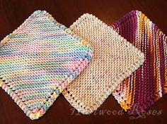 A couple of years ago, I was given a hand-knit dishcloth as a gift. I had seen them before and wondered what all the fuss was about . Knitted Dishcloth Patterns Free, Beginner Knitting Patterns, Knitted Washcloths, Crochet Mandala Pattern, Crochet Dishcloths, Crochet Patterns, Knitting Ideas, Knitting Projects, Free Knitting