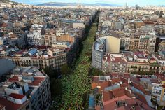 A whole lot Of 1000's Rally For Catalan Independence From SpainBARCELONA, Sept 11 (Reuters) - Hundreds of thousands of Catalans rallied in central Barcelona on Monday, waving red and yellow striped flags and banging drums, in a show of support for independence after Madrid moved to block a planned referendum on the region's split from Spain. Sept. 11 marks the 'Diada', Catalonia's national day, which commemorates the fall of Barcelona to Spain in 1714 and is traditionally used by…