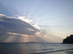 The Cape Panwa Promenade before the sun begins to set