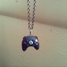 Xbox 360 controller necklaces polymer clay by FlowerChildCharms Check out our seasonal items & Specials!