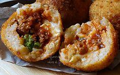 Arancini al ragù - ricetta siciliana