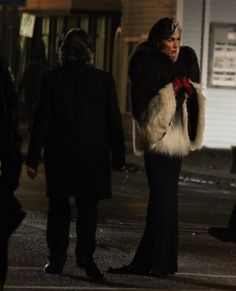 """""""Too tired to go through all my photos from today but here's a clearer photo of Cruella de Vil #OnceAUponATime #OUAT"""""""