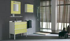 Perchè non osare con un pò di giallo? #Fiora #bathroomdesign  #casadolcecasa #interiors #bagno www.gasparinionline.it