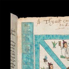 Códice Mendoza - INAH 2015 Mendoza, Ancient Alphabets