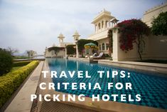 Travel Tips : Criter