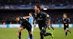 Naples: Two quick-fire goals saw Real Madrid survive an early scare to win 3-1 at Napoli on Tuesday and reach the Champions League quarterfinals for a seventh successive time. Trailing 3-1 from the first leg, Dries Mertens had given Napoli hope with his 24th-minute strike. But Sergio Ramos...