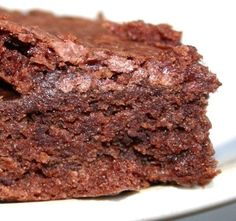 Chocolate recipe:  Easy chocolate brownies are fudgy and ready in minutes