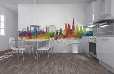 London Skyline 2 - Wall Mural & Photo Wallpaper - Photowall