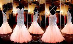 Prom Dress, Coral Dress, Mermaid Dress, Evening Dress, Beaded Dress, Mermaid Prom Dress, Open Back Dress, Dress Prom, Pageant Dress, Coral Prom Dress, Custom Dress, Open Back Prom Dress, Crystal Dress, Mermaid Dress Prom, Prom Dress Mermaid
