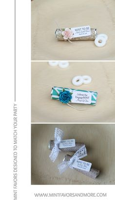 Design your own mint favors. Choose from hundreds of designs for your personalized favors. Great for weddings, bridal showers, engagement, baby shower, graduation and retirement parties.