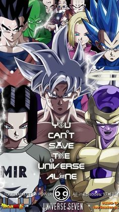 DBS Torneo Universal Saga Poster
