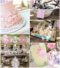 Vintage Pastel Pony themed birthday party Full of Really Cute Ideas via Kara's Party Ideas | Cake, decor, cupcakes, games and more! KarasPar...