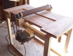My under $100 wide drum sander (a work in progress) - by Daren Nelson @ LumberJocks.com ~ woodworking community