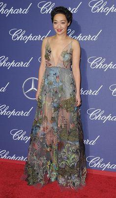We Are Loving Rising Star Ruth Negga's Valentino Gown