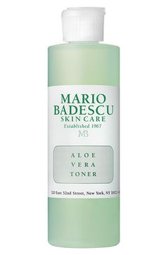 15.00 Nordstrom Mario Badescu's mildest toner for the most sensitive, dry and delicate skin. Soothing aloe vera formula reduces irritation and redness while...