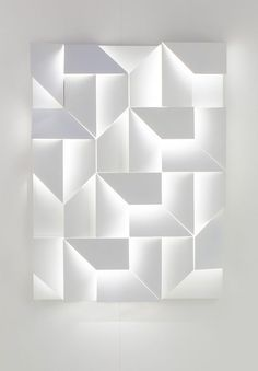"""these """"wall shadows"""" would be an amazing wall treatment in a very cool commercial setting"""