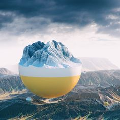 Filip Hodas' digital renderings conjure surreal landscapes in candy colours | Creative Boom