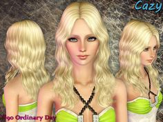 Cazy #90 Ordinary Day Female hair, all ages. ...