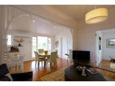 Sloping verandah Queenslander, Cottages, Oversized Mirror, House Ideas, Real Estate, Awesome, Furniture, Home Decor, Lodges