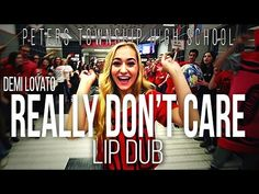 """Demi Lovato """"Really Don't Care"""" Lip Dub 