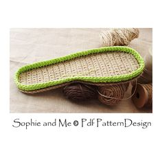 Ravelry: Out-Soles for Slippers by Sophie and Me-Ingunn Santini