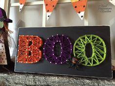 Halloween String Art -