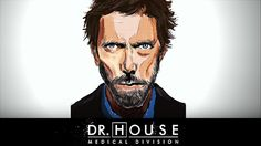 DR. HOUSE | SPEED DRAWING | TV SERIES