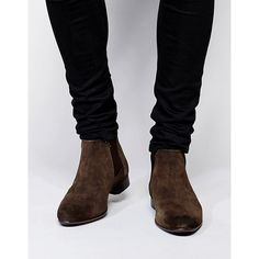 Search for asos chelsea boots men at ASOS. Shop from over styles, including asos chelsea boots men. Discover the latest women's and men's fashion online Brown Suede Chelsea Boots, Chelsea Brown, Suede Boots, Leather Boots, Suede Leather, Men's Boots, Real Leather, Brown Boots, Chelsea Boots Outfit