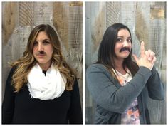 3folders @cuveemarketing & Alexis rocking their 'staches! #Movember