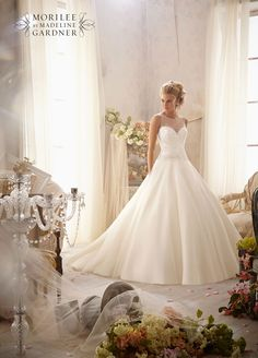 Mori Lee 2602 wedding dress • The latest Mori Lee bridal collection is full of gorgeous sparkly princess gowns