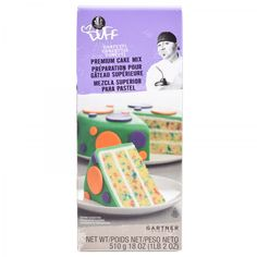 Confetti Cake Mix - Duff Goldman, I want the cake for my birthday!