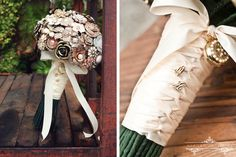 love this! exactly what i'm looking for. could totally make it with undertones of purple and incorporate some of the family heirlooms. a great thing to pass onto my daughters for their weddings.