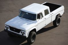 Icon D200 - combines modern technology with the look of Dodge's landmark 1965 crew cab truck