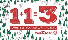 Natura apresenta fórmula para um Natal com muita garra 1 1=3