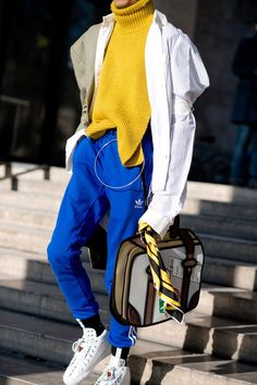 The best-dressed men on the streets of Paris for the Autumn Winter 2017 collections
