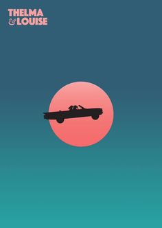 Thelma y Louise 1991 Ridley Scott Minimal Movie Posters, Minimal Poster, Cinema Posters, Minimalist Poster Design, Cinema Film, Art Posters, Thelma Louise, Thelma And Louise Movie, Movie Poster Art