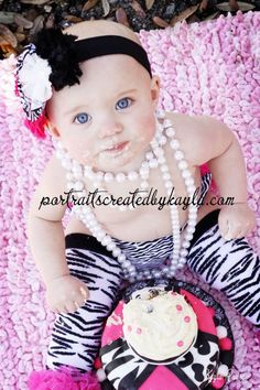 Diva first birthday pictures