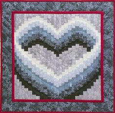 Free Bargello Heart Quilt Pattern | ... pink bargello ribbon by ... : bargello heart quilt pattern - Adamdwight.com