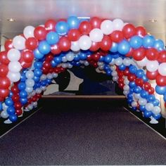 Ballroom Balloons Photo Gallery