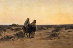 Eugène Girardet, The Flight into Egypt,