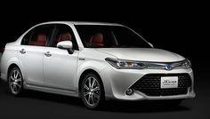 """TOKYO: Japanische Automobil Riesen Toyota Motor Corp am Freitag eingeführt, eine neue Corolla Axio Hybrid G """"50 Limited"""" Modell, eine special Edition..."""