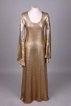 BIBA, London, Evening dress, c. 1970-71 | Flickr - Photo Sharing!