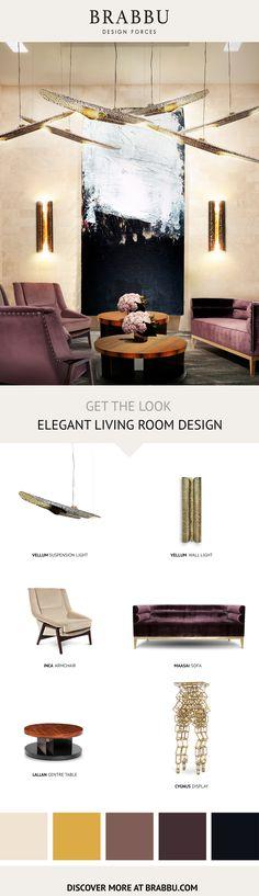 Get The Look   Bold Living Room Set   Living Room Ideas by #BRABBU #livingroom #interiordesign #homedecor Discover more inspiration: https://www.brabbu.com/moodboards/