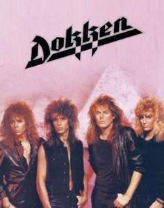 Dokken: Dokken is an American heavy metal band formed in 1976. They split up in 1989 but reformed four years later. The group accumulated numerous charting singles and has sold more than 10 million albums worldwide.