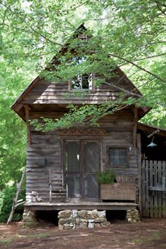 I will save you beautiful house!!!!! (via Photos: Cabin Fever | Garden and Gun)