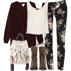 """Malia Inspired Outfit with Requested Cardigan"" by veterization on Polyvore"