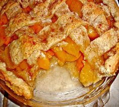 Old Fashioned Peach Cobbler! Perfect for summer :)