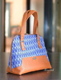 Love this style of bag.  What pattern?