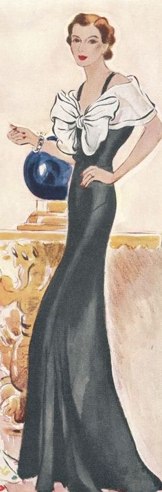 McCall's magazine, June 1934 featuring McCall 7857 after Mainbocher